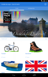 <p>The special Gooi & Vecht tour app with for instance two tours while sailing on the IJmeer.</p>